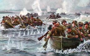 Картинка США, 1944, Армия США, военная операция союзников, Nijmegen, 82nd Airborne Division, дивизия СВ США, 82-я …