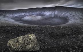 Картинка природа, скала, Hverfjall l Iceland