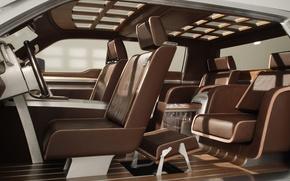 Картинка Ford, кресло, салон, superchief