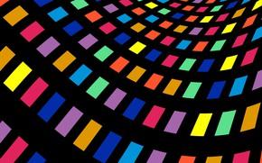 Обои разноцветное, абстракция, цвета