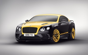 Картинка car, Bentley, logo, Bentley Continental, GT 24, Gold Black, Bentley Continental GT 24 Gold Black