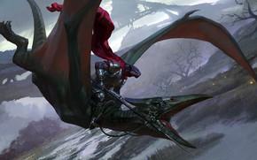 Картинка Windgrace Acolyte, Bayard Wu, настольная игра, Magic: The Gathering