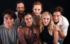 Обои Riverdale, Veronica Lodge, Camila Mendes, Betty Cooper, Cole Sprouse, Lili Reinhart, Ривердэйл, Cheryl Blossom, Madelaine ...