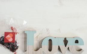 Картинка конфеты, сердечки, love, Праздник, день влюбленных