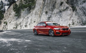 Картинка BMW, Red, F22, Melbourne, M235i