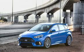 Обои Ford, 2017, Focus, bridge