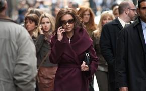 Картинка улица, актриса, очки, Кэтрин Зета-Джонс, Catherine Zeta-Jones