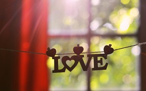 Картинка любовь, окно, love, слово