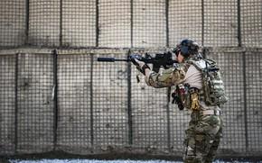 Картинка оружие, солдат, United States Air Force