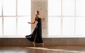 Картинка девушка, балерина, Дарья, Сасин Александр