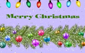 Картинка Boże Narodzenie, stroik, światelka