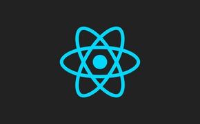 Картинка logo, programming, code, framework, react, it