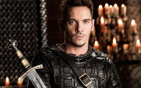 Картинка sword, armor, man, ken, blade, Vikings, Jonathan Rhys Meyers, tv series, Heahmund