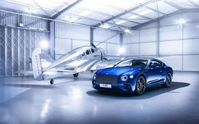 Обои Bentley, самолёт, Continental GT, Бентли, Континенталь