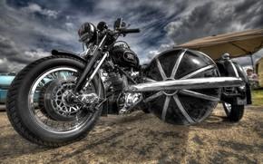 Картинка фон, цвет, мотоцикл