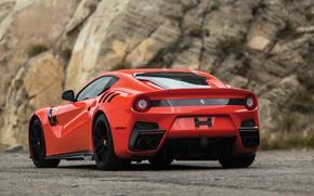 Картинка Ferrari, суперкар, вид сзади, F12, 2017, TDF