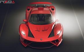 Картинка фронт, автомобиль, Poison car concept