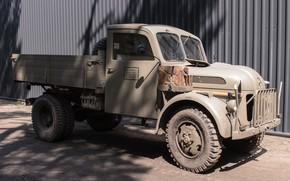 Картинка легкий, грузовик, автомобиль, военный, Steyr, 1500 A