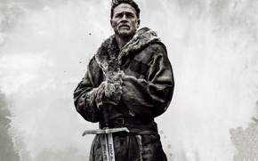 Обои cinema, film, Charlie Hunnam, ken, sword, blade, movie, king, King Arthur: Legend Of The Sword, ...
