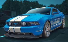 Обои фон, культовый автомобиль, Mustang GT