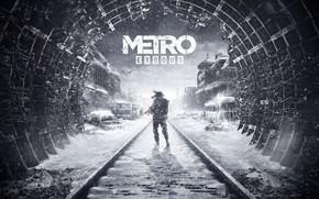 Картинка Метро, Арт, Metro, 4A Games, Deep Silver, Exodus, Metro: Exodus, Metro Exodus, Артём, Метро: Исход, …