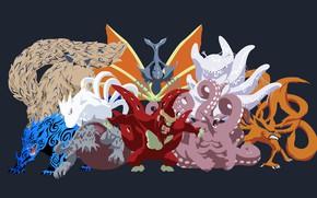 Картинка game, Naruto, anime, manga, Naruto Shippuden, japonese, biju, tailed beasts