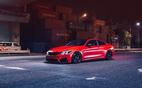 Картинка BMW, Light, Night, RED, F82, Sight, LED