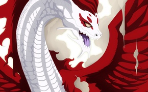 Картинка game, anime, dragon, manga, Fairy Tail, dragon slayer, by animefanno1, Irene Belserion, Eileen, dragon form