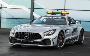 Обои Safety Car, 2018, AMG, Formula 1, GT R, Mercedes-Benz