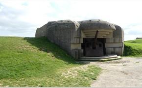 Картинка gun, normandy, ww2, artillery