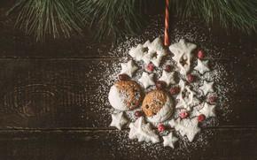 Картинка украшения, Новый Год, печенье, Рождество, happy, Christmas, New Year, Merry Christmas, Xmas, cookies, decoration, пряники, …