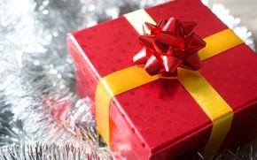 Картинка подарок, Новый Год, Рождество, happy, Christmas, wood, New Year, Merry Christmas, Xmas, gift, decoration