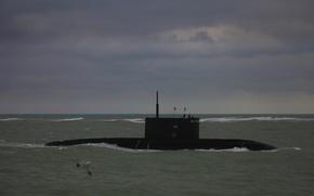 Картинка лодка, подводная, Новороссийск, Черное море, дизельная