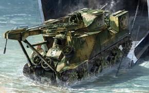 Картинка высадка, M31, ронированная ремонтно-эвакуационная машина, ARV, БРЭМ, Tank Recovery Vehicle
