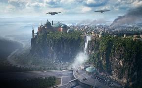 Картинка Star Wars, game, vegetation, Star Wars Battlefront II, Star Wars Battlefront 2