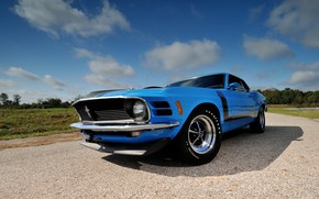 Обои 1970, Fastback, Ford Mustang, Boss 302