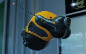 Обои арт, surveillance drone, Giacomo Tappainer, дрон