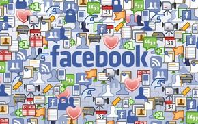 Обои социальная сеть, facebook, фэйсбук