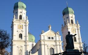 Картинка Германия, Бавария, Пассау, Собор Святого Стефана