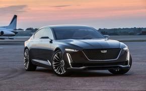 Картинка Concept, закат, Cadillac, 2016, Escala