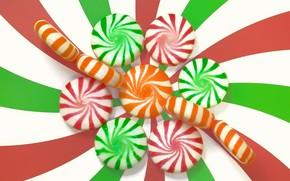 Картинка цветные, конфеты, сладости