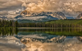 Картинка облака, пейзаж, природа, красота