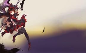 Картинка kawaii, girl, game, dress, anime, pretty, blade, brunette, asian, cute, warrior, manga, japanese, oriental, asiatic, …
