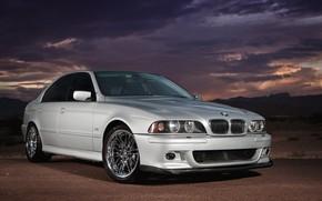 Картинка BMW, E39, 530i, Silver