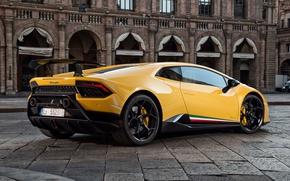 Картинка city, Lamborghini, Huracan, Huracan Performante, Lamborghini Huracan Performante