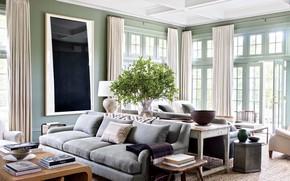 Картинка мебель, вилла, интерьер, гостиная