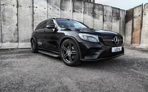 Картинка Mercedes-Benz, мерседес, AMG, кроссовер, X253, GLC-class