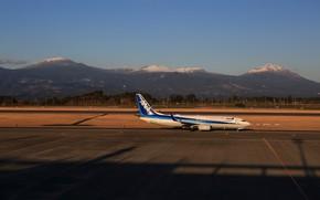 Картинка аэродром, пассажирский самолет, B737-800