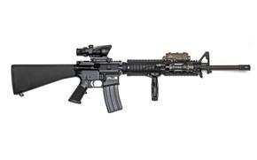 Обои американская, автоматическая, винтовка, M16A4