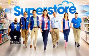Картинка взгляд, сериал, актеры, Фильмы, Супермаркет, Superstore